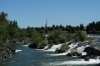 The falls at Idaho Falls