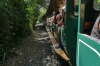 The little train, ride to Devil's Throat at Iguazú Falls AR