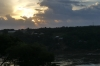 Sunset over Paraguay, from Three Borders Park lookout point, Puerto Iguazú AR