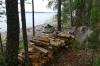 Fireplace, Lammassaaren Forest Walk near Imatra FI