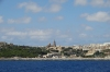 Arriving at L-Imgarr, Gozo by ferry from Malta Island