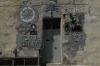 Decorated entrance to house on Xatt is-Sajjieda (street) in Marsaxlokk, Malta