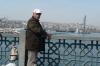 Fishermen on the Galata Bridge, Istanbul TR