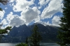 Teton Range and Jenny Lake, Great Teton Park