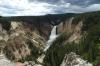 Lower Falls near Canyon Village, Yellowstone, WY