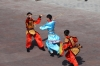 Performance. The Great Wall at Guan Cheng, Jiayuguan