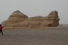 The sphinx, Yardan Landform near Dunhuang
