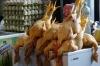 Poultry stall. Telavi Market