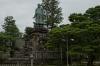 Statue of Prince Yamato Takeru, Kenrokuen Gardens, Kanazawa, Japan