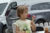 Enjoying icecream in the Market Square, Kazimierz Dolny PL