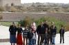 Tourists at Konye-Urgench TM