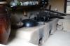 Kitchen, Korean Folk Village.  The stove provides underfloor heating to the house.