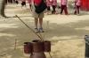 Thea throwing sticks, Korean Folk Village