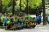 School children at the Korean Folk Village