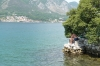 Fishing on Kotor Lake
