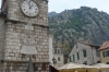 Town Clock Tower in the walled city of Kotor