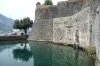 Sea moat around the walled city of Kotor