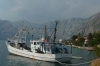 Fishing boat on Kotor Lake