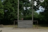 Place where Rudolf Höss, Nazi German SS-Obersturmbannführer was hung at Auschwitz PL