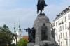 Statue in Pl Matejki, Kraków PL