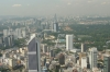 View from Menara Telecom Tower, KL, inluding Maybank, Post Building and National Mosque