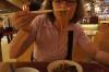 Thea tries lunch in Kuala Lumpur MY