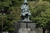 Kato Kiyomasa statue, Kumamoto Castle, Japan