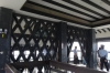 Inside the main tower of the Kumamoto Castle, Japan