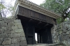 Akazuno Gate (closed gate, keeping out evil spirits) Kumamoto Castle, Japan