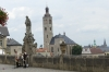 St James Church and Barborska (street) leading to St Barbara's Cathedral and Jesuit College, Kutná Hora CZ