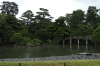 Keyakibashi Bridge and Oikeniwa Garden, Kyoto Imperial Palace, Japan