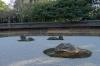 Zen stone garden at the Ryoanji Temple, Kyoto, Japan
