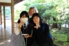 Natsumi & Rie wanted to speak English at the Ryoanji Temple, Kyoto, Japan