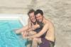 Hayden & Andrea poolside, Ladywood, Russell Villas JM