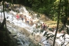 The climb up Ocho Rios waterfall JM