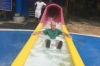 Bruce tries the waterslide at Ocho Rios JM