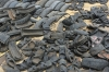 Recycled tyres. Market Day in Mbuyuni, Tanzania