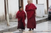 Youn and older monk, Labrang Monastery, Xaihe, Tibet