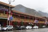 Main shopping street in Xaihe, Tibet