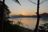 Sunset on the Mekong River, Luang Prabang LA