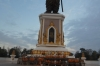 Statue on the Mekong, Vientiane LA