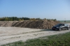 A huge pile of sugar beet near Château D'Etoges, but I saw bigger piles