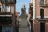 Statue on La Rambla, Badalona ES