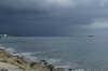 Threatening rain on the waterfront at Limassol CY
