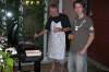 Bruce and Hayden - new BBQ, West Ealing UK