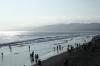Santa Monica pier, looking north