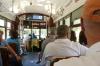 Green St Charles Streetcar, New Orleans LA USA