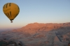 Ballooning over Temple of Queen Hatshepsut, Luxor