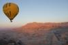 Ballooning over Temple of Queen Hatshepsut, Luxor EG