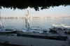 Boats on the River Nile, Luxor EG